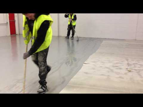 Epoxy Resin (Garage Floor Paint) Application #1