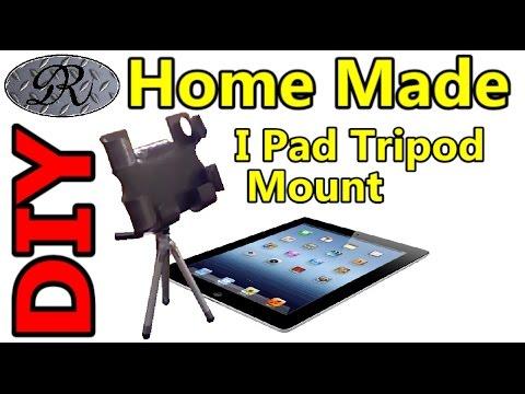 ★DIY Easy Home Made I Pad Tripod Accessory Mount