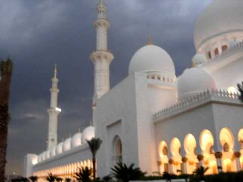 Abu Dhabi Grand Mosque Call to Prayer