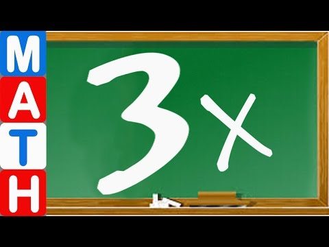 Learn Times Table - Learn the 3 Times Tables Fast