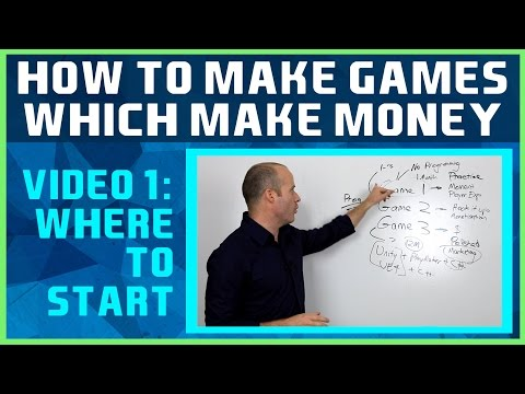 How to Make Games Which Make Money #1: Where To Start?