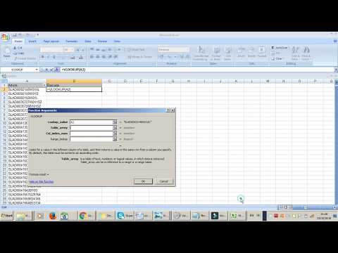 How to do VLOOKUP in Excel easyway