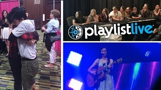 PLAYLIST LIVE 2017 DAY TWO- PANELS, YOUTUBERS AND PEOPLE WHO WATCH MY VIDEOS?!