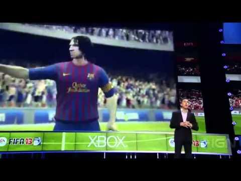 E3 2012 - FIFA 13 Live Kinect Intergration