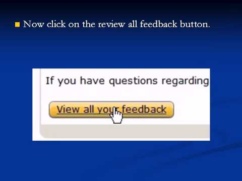 How to remove a negative feedback on Amazon