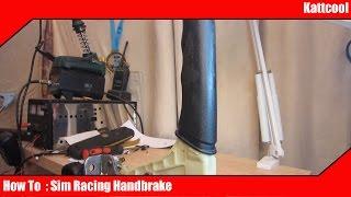DIY Sim Racing handbrake, rubber resistance   Daikhlo
