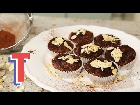 Indulgent Gluten Free Chocolate Almond Muffins | Yum In The Sun 3
