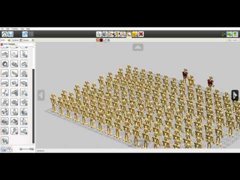 Lego Digital Designer / Star Wars droid army en Custom droids
