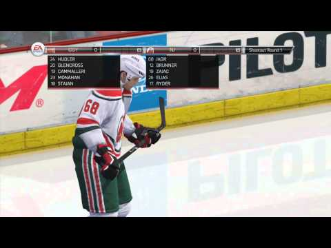 NHL 14 Shootout Commentary #4