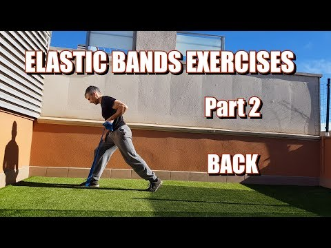 100 RESISTANCE BANDS EXERCISES | PART 2: LATS/BACK