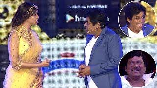 Comedian Ali Making Fun Of Lakshmi Manchu   SIIMA 2016   Telugu Part 1