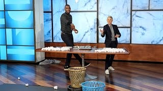 LeBron James Goes Head to Head with Ellen