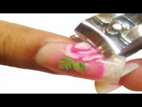 How I remove my acrylic nails