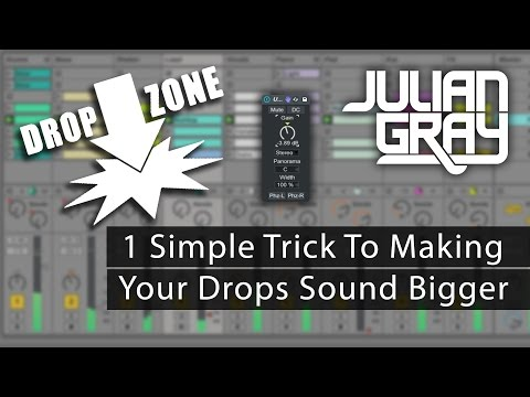 How To Make Your Drops Hit Harder - Ableton Live