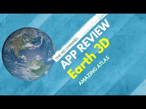 Earth 3D - App Review - 3d World Atlas