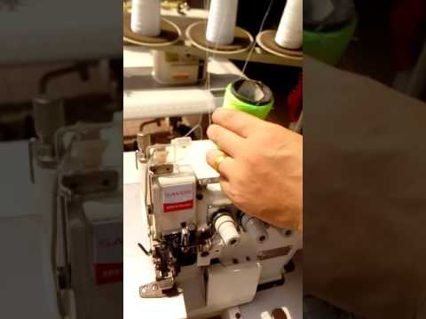 Add Oil--How to Install the Overlock Sewing machine GDB 747 757 --Part 4