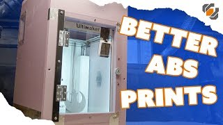 How to Make an Enclosure for Your 3D Printer - Better ABS Prints