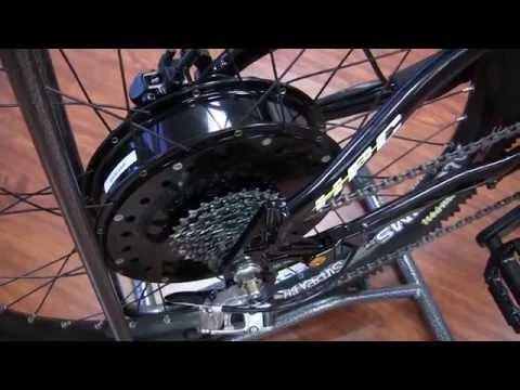 5000w 60mph  New Fastest Production Electric Bike - XC-4A