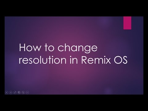 Change Resolution in Remix OS '100% Working' (Installed On Hard Disk)
