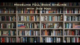 Fill my bookshelves! 3ds Max Script - PakVim net HD Vdieos Portal