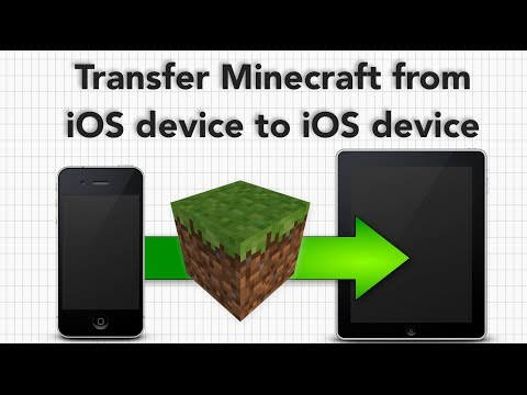 How To Copy Minecraft PE (or any game) from iOS Device to Another iOS Device