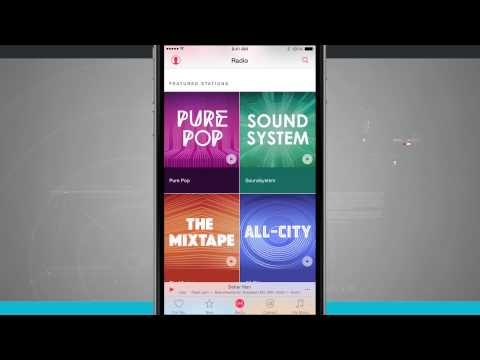 iPhone 6 Tips - How to Create Radio Stations in Apple Music