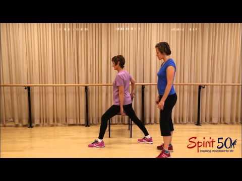 Easy Yoga: Hip stretch (warrier one)