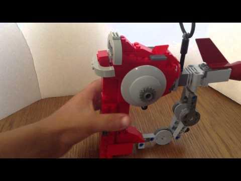 Lego life size raygun