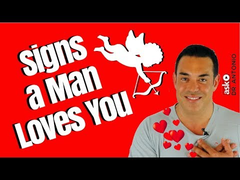 Signs that a Man Loves You - Signs That He Loves You Secretly