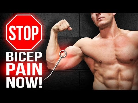 Do Your Biceps Hurt? THEN YOU NEED TO WATCH THIS! - Eliminate Tendon & Muscle Pain