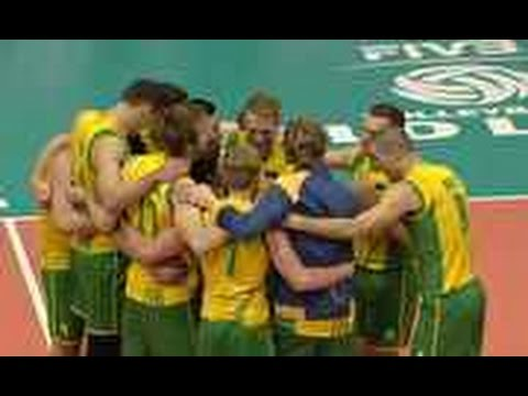Sets, Australia vs France (3-2), Men's Volleyball World League 7.12.2014
