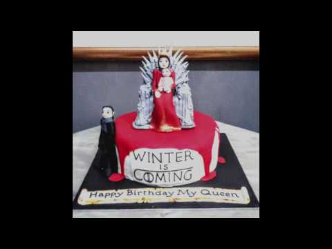 Game of Throne Cake Decoration