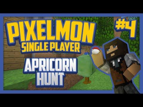 Pixelmon (Minecraft Pokemon Mod) Single Player Season 2 Ep.4 Apricorn Hunt!