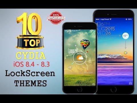 TOP 10 Cydia LockScreen Themes for iOS 8.4 – iOS 8.3 /8 /7 – Part 02