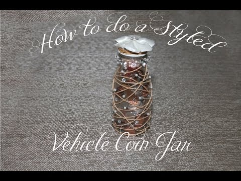 Stylish Coin Jar