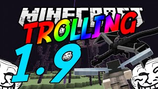 Minecraft Trolling: 1.9 Update