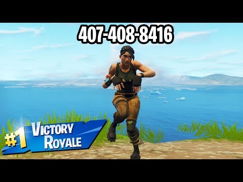 Xxx Mp4 I Put My PHONE NUMBER In My Fortnite Name And WON A Game Of FORTNITE 3gp Sex