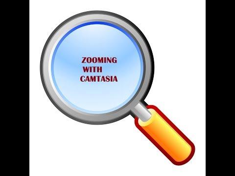 How to zoom in  Camtasia Studio
