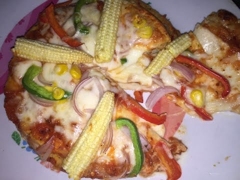 Perfect cheese burst pizza at home just like dominos