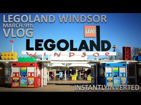 Legoland Windsor Opening Day Vlog - 9th March 2018