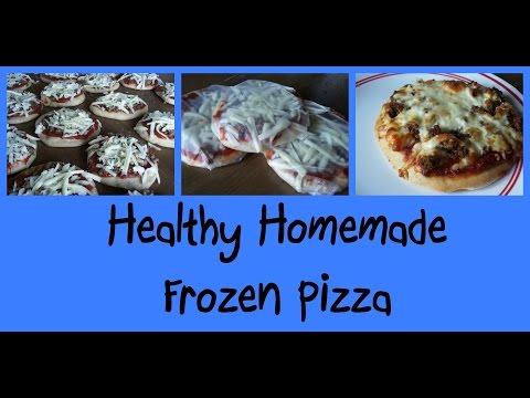 Healthy Homemade Frozen Pizza