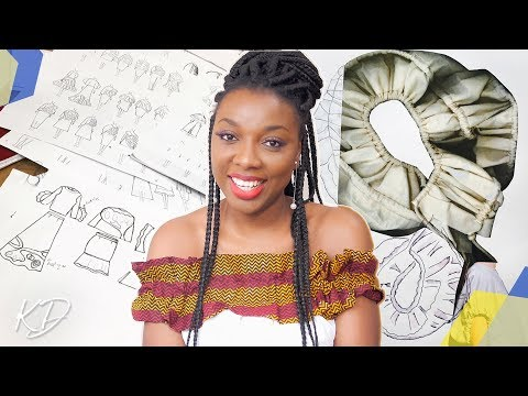 HOW I GOT INTO FASHION SCHOOL IN LONDON FROM NIGERIA | KIM DAVE