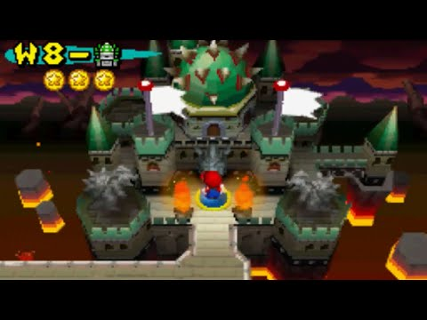 New Super Mario Bros - World 8 Final Castle