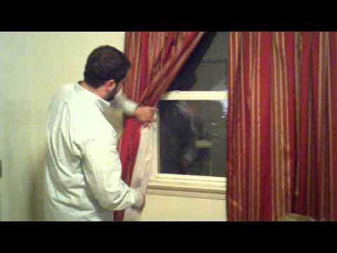 2011.11.06 - How to install Curtain Holdbacks