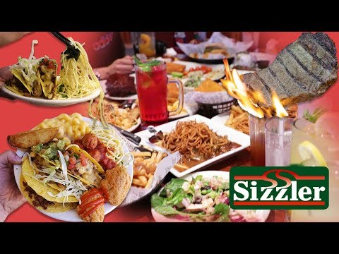 We Ordered EVERYTHING At Sizzler!!!!  | Going In