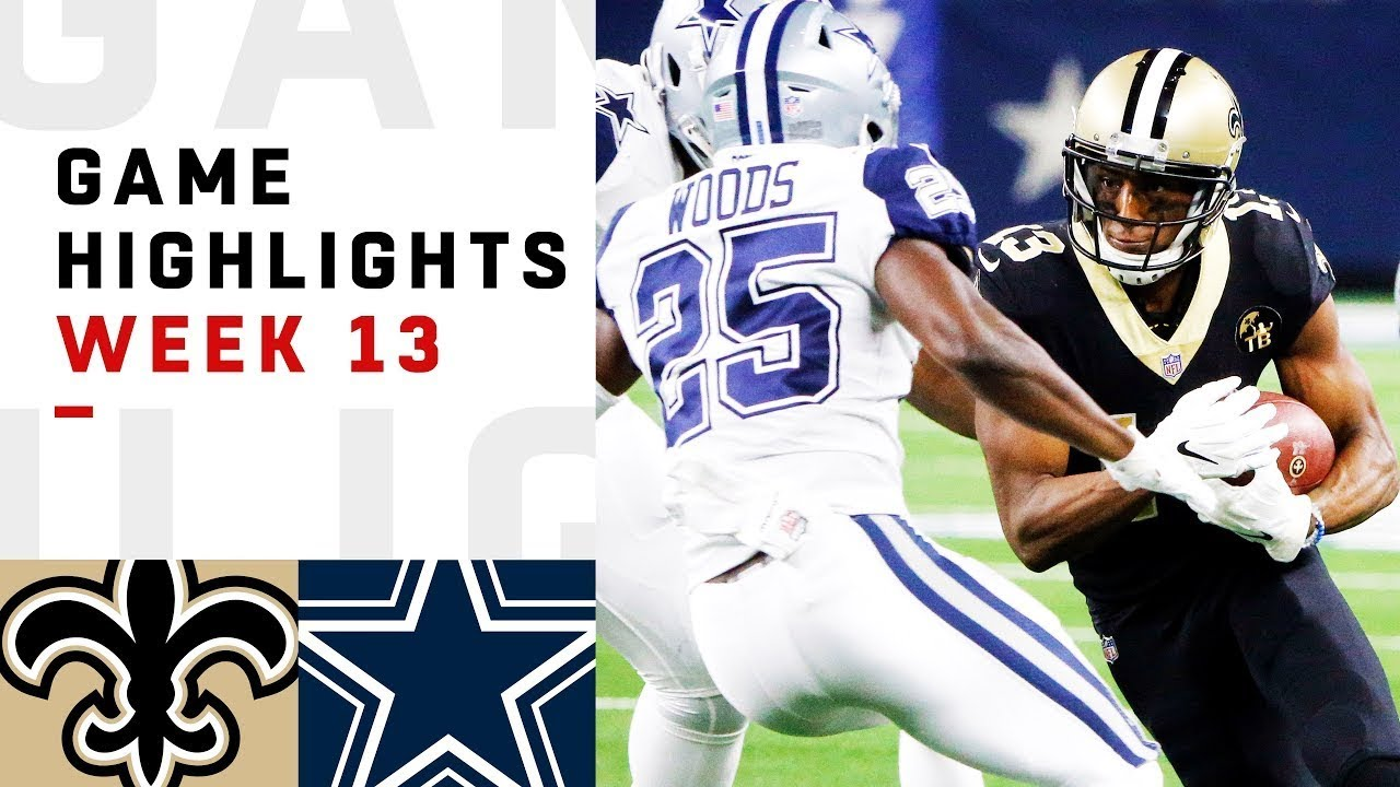 The Ugliest Game of the Year? | Saints vs. Cowboys 2018 NFL Highlights