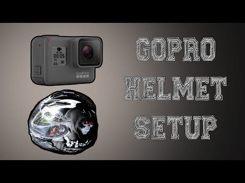 Gopro Hero 5 How To Attach To Helm [HD FOOTAGE]
