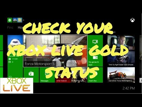 How to Check Your Xbox Live Gold Status (Ending Date)
