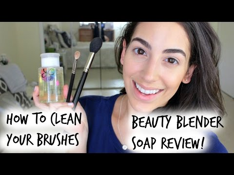 Beauty Blender Soap Review/ How I Clean My Brushes ♛