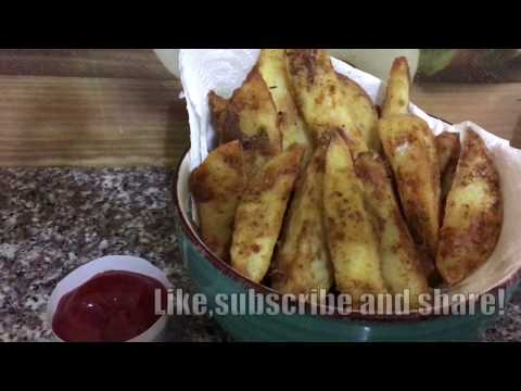 Potato Wedges||baked and deep fried